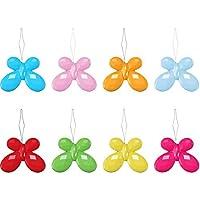 Lvcky 20pièces Papillon Plastique enfile-Aiguilles avec boîte Transparente, Couleurs Assorties