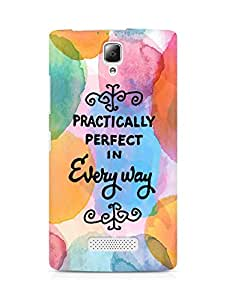 AMEZ practically perfect in every way Back Cover For Lenovo A2010