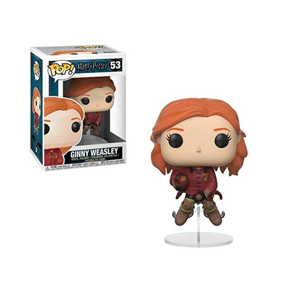 Funko Pop Ginny montado en escoba / Quidditch (Harry Potter 53) Funko Pop Harry Potter
