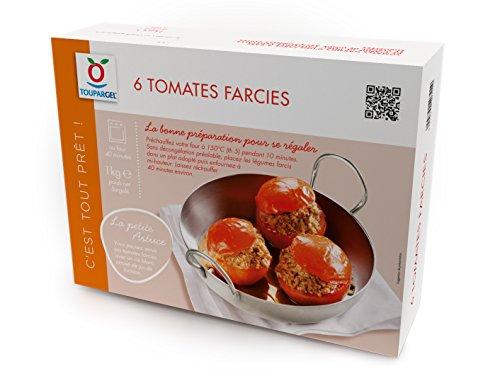 TOUPARGEL - 6 tomates farcies - 1 kg - Surgelé