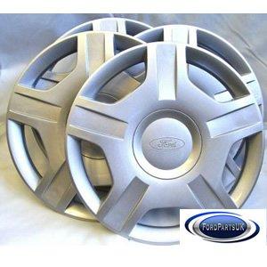Genuine Ford Parts Jeu de 4 enjoliveurs pour Ford Fiesta MK6 14