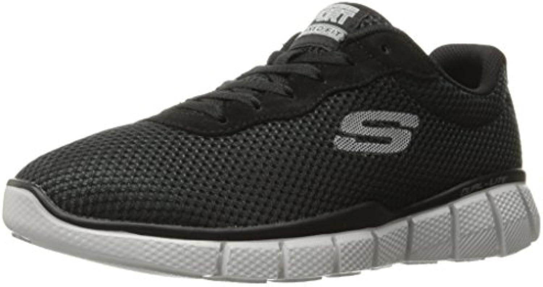 Skechers Herren Equalizer 2.0 Arlor Sneakers  Schwarz  Billig und erschwinglich Im Verkauf