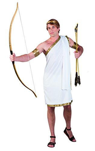 Boland 83808 Karnevalskostüm, weiß, M/L (Toga Zubehör Kostüm)
