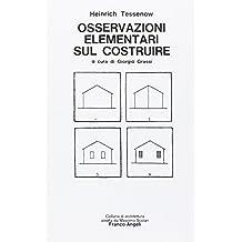 Osservazioni elementari sul costruire (Architettura)