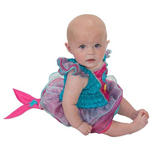 Meerjungfrau Baby Kleinkind Kostüm - 0-24 Monate Gr 92 (12-24 Monate) - Lucy (Kostüme Babys Kleine Für Meerjungfrau)