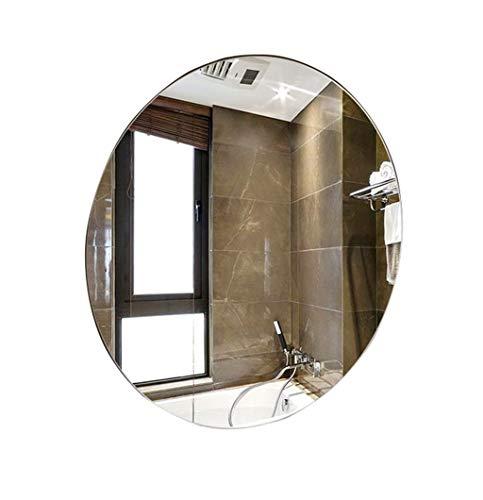 Specchi per il trucco specchio sospeso per specchio da bagno a parete rotonda | specchietto da trucco e da trucco vanity a parete circle | specchio decorativo senza cornice arredo bagno