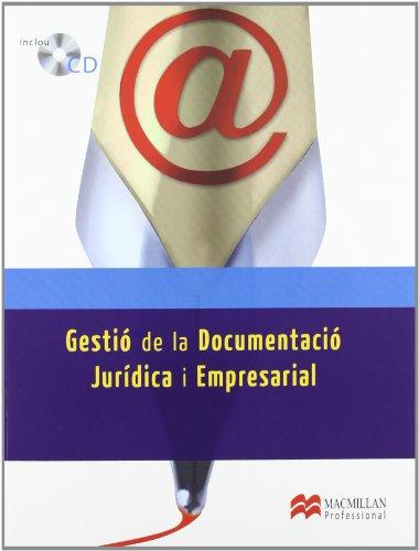GESTION DOC JURID Y EMPRES 2012 Lib Cat (Administració y Finanzas) por Jaime José Antón Pérez
