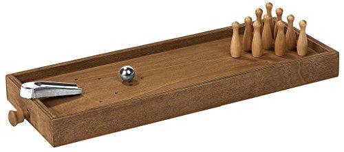Wooden Game Desktop Bowling | Tisch-Kegeln | Aus Holz