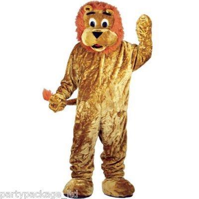 Deluxe Lion Maskottchen (Kostüme Deluxe Löwe Plüsch)