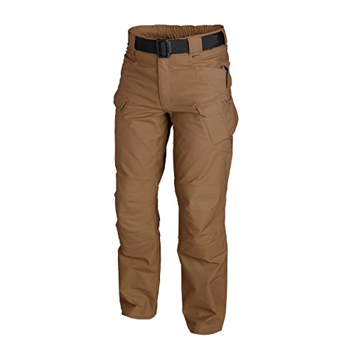 URBAN TACTICAL PANTS® - PolyCotton Ripstop - Mud Brown (XXL-R) (Edge Folding Clip)
