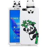Everainy Huawei Y5 Prime 2018/Y5 2018 Silikon Hülle Ultra Slim 3D Panda Muster Ultradünn Hüllen Handyhülle Gummi... preisvergleich bei billige-tabletten.eu
