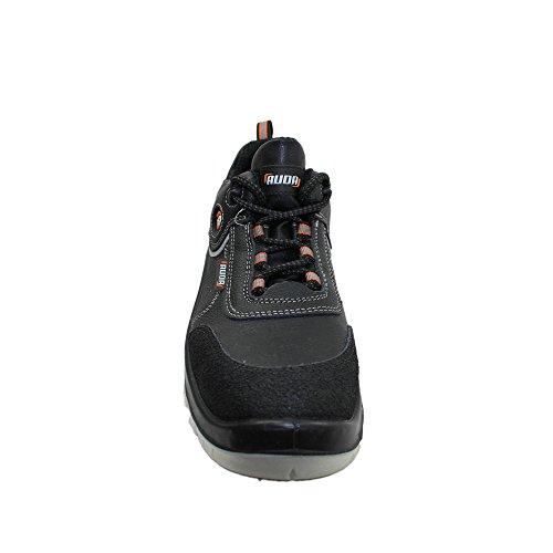 Auda chaussures de sécurité norme s3 sRC chaussures berufsschuhe businessschuhe plat noir Noir