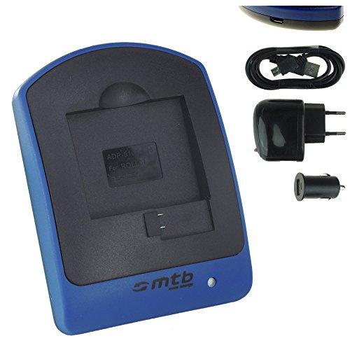 Chargeur (USB/Auto/Secteur) pour AEE Magicam S51, S60, S70... / Veho MUVI K2 / Nilox F-60 Evo (4K) / KitVision Edge HD30W // Caméscope - Caméra d'action