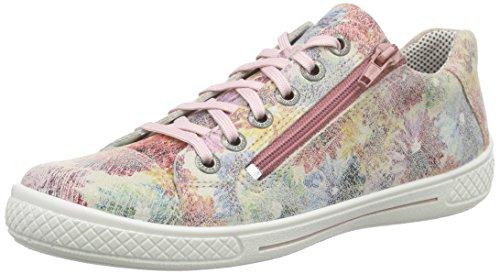 Superfit Tensy 600107 Mädchen Sneakers, Mehrfarbig (Camelia Kombi 61), 33 EU