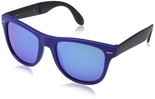 ray-ban-lunettes-de-soleil-rb4105-folding-wayfarer-602017-matte-blue-black-54mm