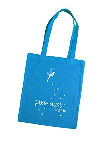 Borsa tote donna - pixie dust inside - giallo blu