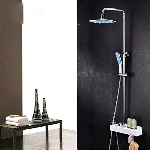 FuweiEncore Unterputz-Duschbrause Kupfer Material Duschset Duschset Duschset (Farbe : -, Größe : -)