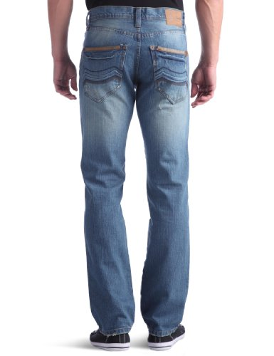 Rica Lewis Herren Jeans  Droit Blau