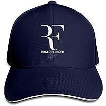 ed1fde9346fca Miedhki Nubia Roger RF Federer Sandwich Peak Custom Hat Snapback Hat Black  Fashion29