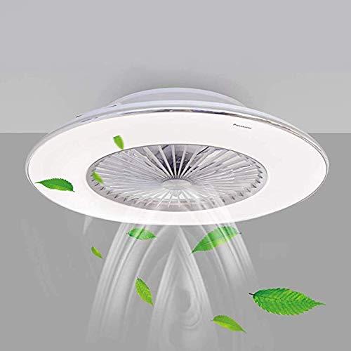 XUEGM-Light Ventilador de Techo LED con luz Moderna, Montaje Empotrado a la...