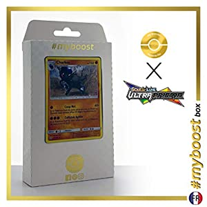 Charkos (Rampardos) 65/156 Holo - #myboost X Soleil & Lune 5 Ultra-Prisme - Box de 10 Cartas Pokémon Francés