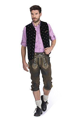 Stockerpoint - Herren Trachten Weste in verschiedenen Farbtönen, Calzado, Größe:64, Farbe:Schwarz - 2