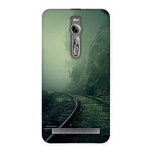 Stylish Fog Track Back Case Cover for Asus Zenfone 2