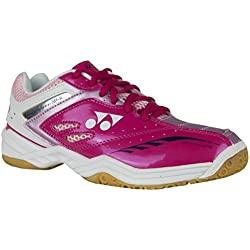 YONEX SHB 34 lx Power Kissen Damen Badminton Court Squash Schuhe 2016 Rosa rose UK 8 / EU 41
