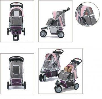 Pet Stroller Ips-09/Blue, dog carrier, trolley, Trailer, Innopet, Buggy First Class. Foldable pet buggy, pushchair, pram… 7