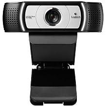 Logitech C930e  - Webcam, color negro/gris