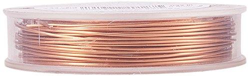 BENECREAT Kupferdraht, permanent eingefärbt, 20Gauge (0,8mm), 10m, kupferfarben