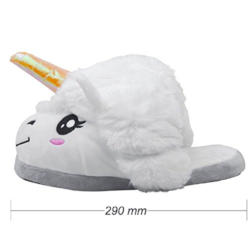 Unicorno - Unicorno - Taglia Unica Per Adulti Carnevale Carnevale Bianco 3