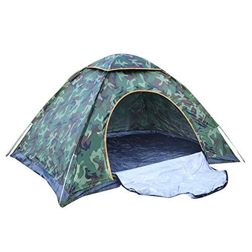 MISSMAO_FASHION2019 Pop up Strandmuschel-Outdoor Beach Tent Portable Strandmuschel Wurfzelt,Familien Sonnenschutz Strandzelt Sonnenschirm Tragbar für 1-4 Personen Tarnung2 200X200X135cm