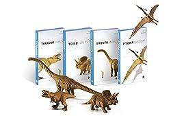 [Diorazzle Torosaurus] 3 D Diorama Non Toxic Educational Dinosaur Puzzle For Kids