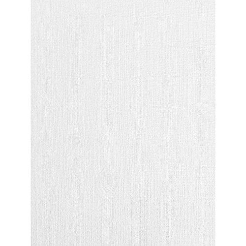 A4-Karte in Leinenstruktur, weiß, seidengewebt, 250 g/m², 10 Blatt
