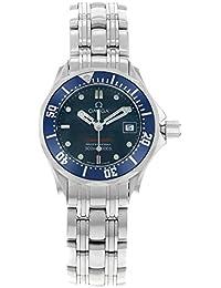 Omega 2224.80.00 / 1 - Reloj para mujeres, correa de acero inoxidable color acero