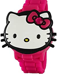 Hello Kitty Girl's 3D Pink Digital Watch With Pop-Up Feature HK4014
