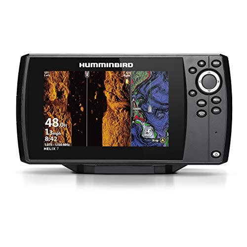 Humminbird Helix 7 Chirp MSI GPS G3, w/Xdcr, NAV+ Humminbird Side Imaging Sonar