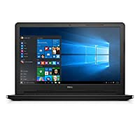 Dell Inspiron 3552 Laptop- Intel Celeron N3060, 15.6 Inch, 500GB, 4GB, Win 10,English-Arabic-Keyboard, Black