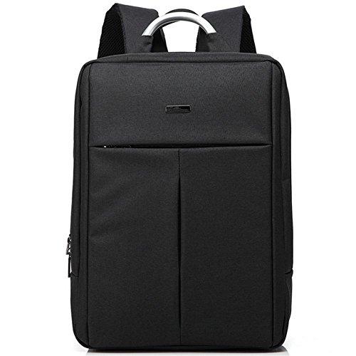 Zaino del computer sacchetto zaino Oxford Uomo impermeabile e donne Vacanza pacchetto Business black