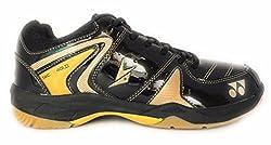 Yonex Badminton Non Marking Shoes - 9 UK, Black