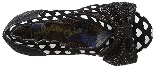 Irregular Choice Damen Stage Left Pumps Schwarz (Schwarz/Weiß)