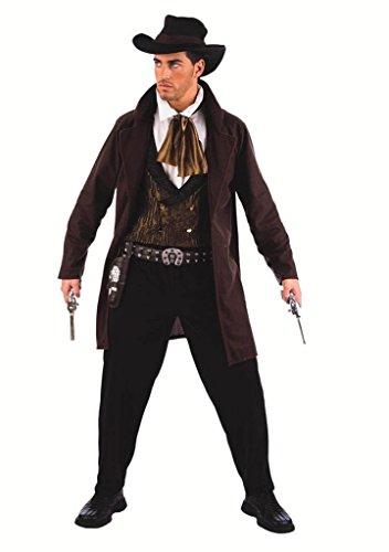 Elbenwald - Costume Da Cowboy - Costume In 3 Pezzi - Eventi Larp O Feste A Maschera - M