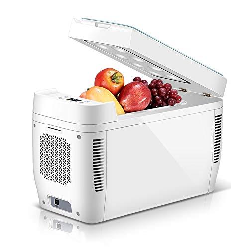 FINLR Kühlbox Mini Kühlschrank Camping Tragbare Reise Kühlschrank Kühler Wärmer Heizung Multifunktions-Elektro-Kühlschrank 11 Liter tragbar (Size : A)