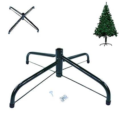 Christbaumstnder-Weihnachtsbaumstnder-Faltbarer-Weihnachtsbaum-Metallstnder-Basis-Stahlstnder-Zubehr-Weihnachtsschmuck-fr-knstliche-Bume