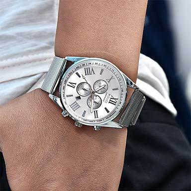 Fashion Watches Relojes Hermosos, Hombre Mujer Niño Unisex Reloj Deportivo Reloj Militar Reloj de Vestir Reloj de Moda Reloj de Pulsera Cuarzo Calendario Punk Esfera Grande