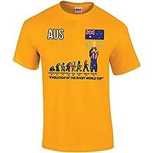 """Ganadores de la Copa Mundial de Rugby 2015(actualizado 2015versión) """"Evolución de Rugby"""" Kids–Camiseta para niños"""