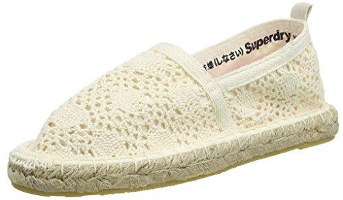 Superdry Espadry, Espadrillas Donna, Bianco (Off White Crochetotv), 39 EU