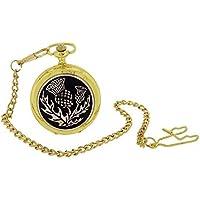 Boxx Gents Cardo Design, oro orologio da tasca catena da 14boxx403