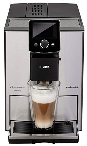 NIVONA NICR 825 CafeRomatica Kaffeevollautomat 15 bar silber ECO-Modus
